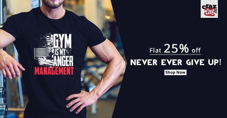 You Want Results? Then Train Like It. Be motivated by Craztag's Exclsuive Gym collection which is specially created for Gym Lovers. Grab 25% off  now. Buy now : https://goo.gl/wqR1pf