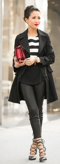 Marissa Webb Lace-up heels by Wendy's Lookbook
