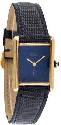 Cartier Argent Tank Must De Cartier Watch