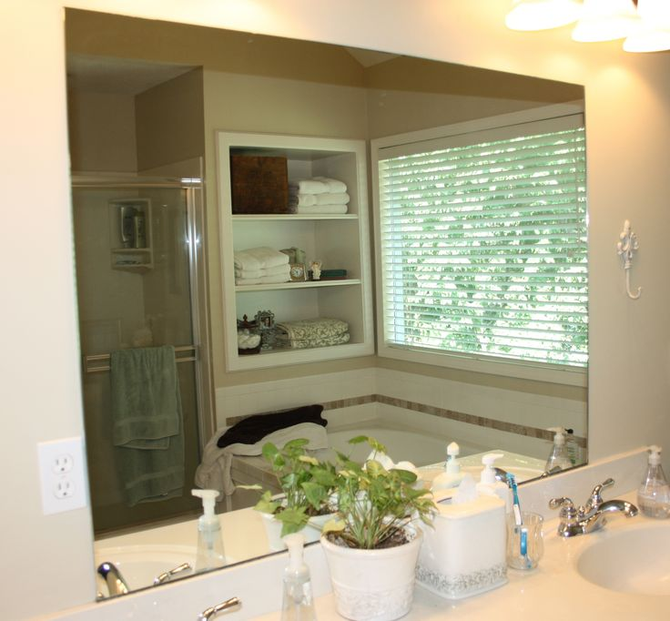 Bathroom Mirror Makeover best 25+ mirror makeover ideas on pinterest | framed mirrors