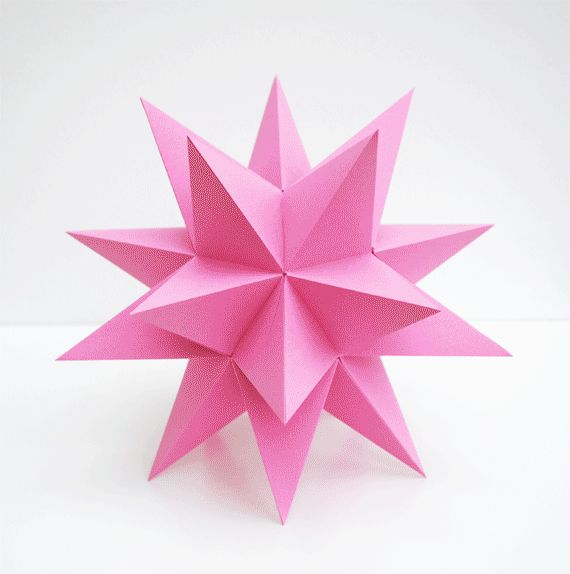 DIY Stellated Dodecahedron