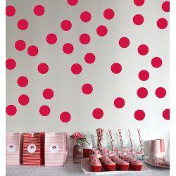 Little Boo-Teek - Decals and Stickers Speckled House Wall Decal - Polka Dot Red $42.95 www.littlebooteek.com.au #littlebooteekau #presents #kids #bedroom #playroom #decals #wallstickers
