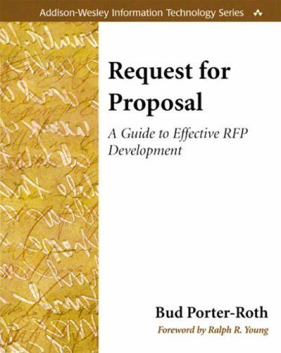 40 best Requests for Proposal (RFPs) images on Pinterest - request for proposal example