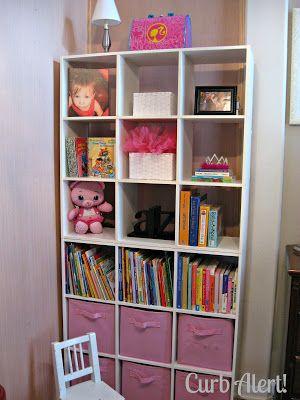 Curb Alert! : Curbside Cubicle Organizer Shelves