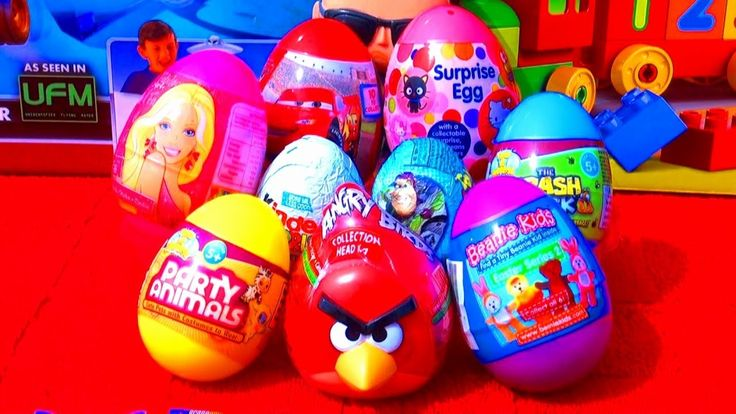 Coloring Easter Eggs History Inspirational 9 Surprise Eggs ...