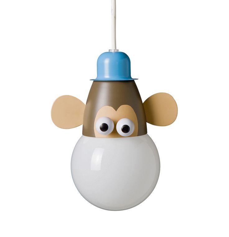 Hanglamp zoo Aap van Kico Philips. Haal de jungle in de kinderkamer. Ook andere dieren verkrijgbaar. - De Boomhut