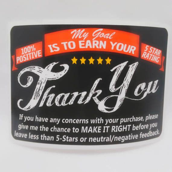 Review Stickers, Packaging, Shop Labels, Feedback Labels, Five Stars, Review Labels, Review label, Star Stickers, Labels, Mailing labels