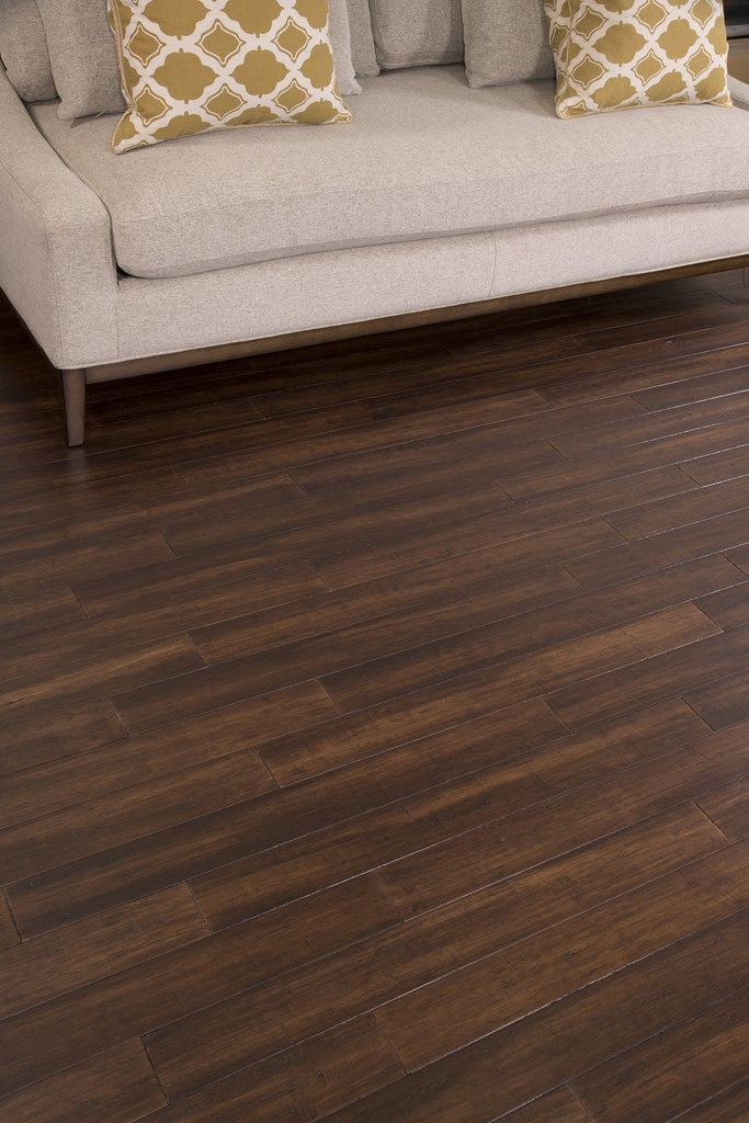 Hand Scraped Bamboo Flooring in Bordeaux by Cali Bamboo