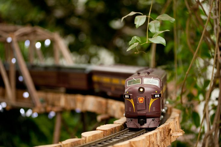 holiday train show at the New York botanical garden.