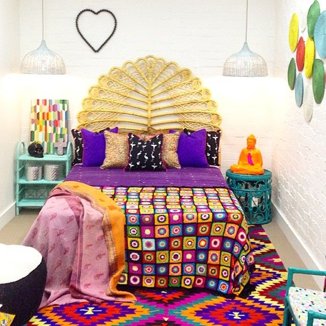 So many gorgeous Milly and Eugene products in one bedroom!