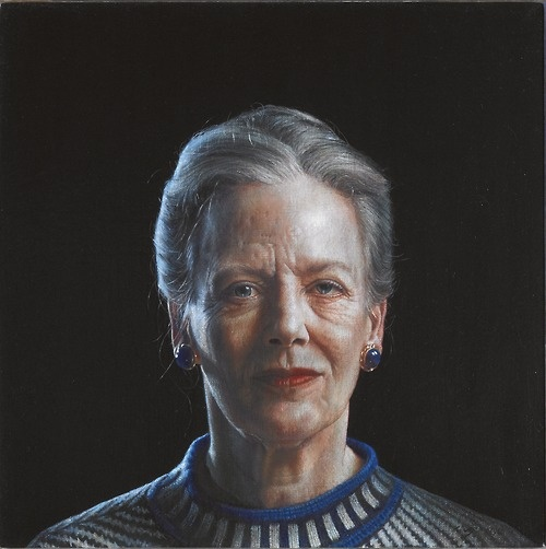 Queen Margrethe made by the Danish artist Thomas Kluge in 1995
