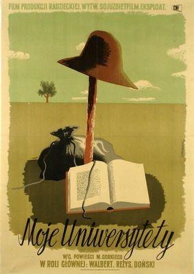 University of Life design: Tadeusz Trepkowski Polish Poster
