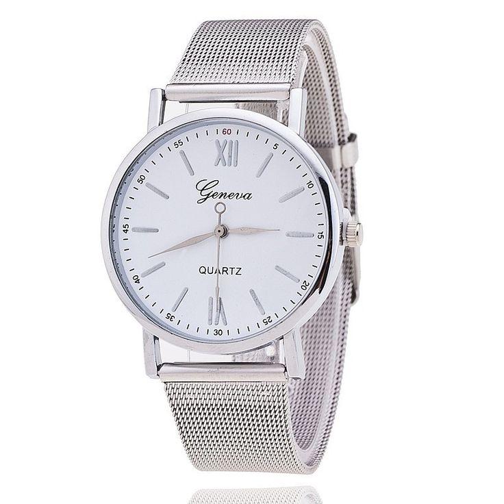 Geneva Silver Band Women Wristwatch Quartz Watches – The Cynical Clique