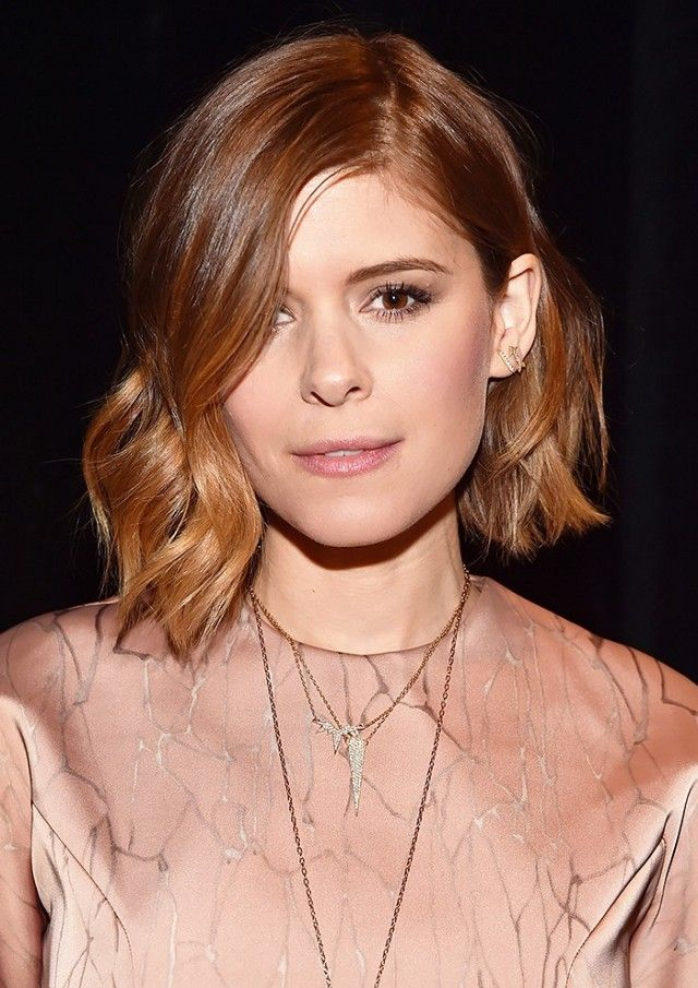 Kate Mara looks stunning with a lob
