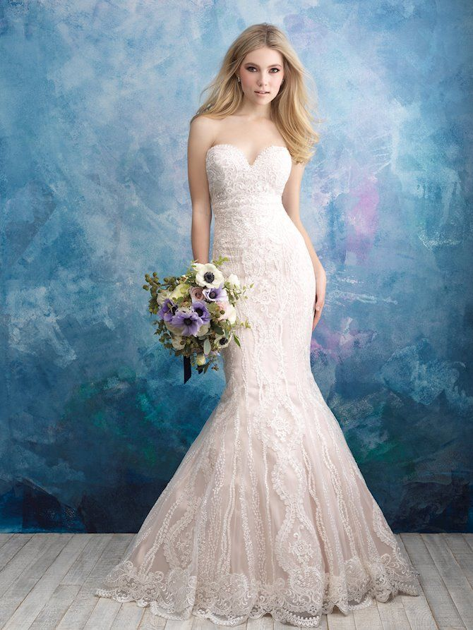 886fc4ad9499 Allure Bridals 9574.   Allure Bridals in 2019   Bridal gown styles ...