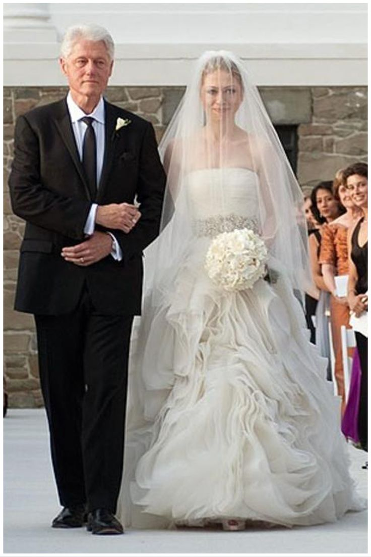 chelsea clinton wedding dress - Google Search