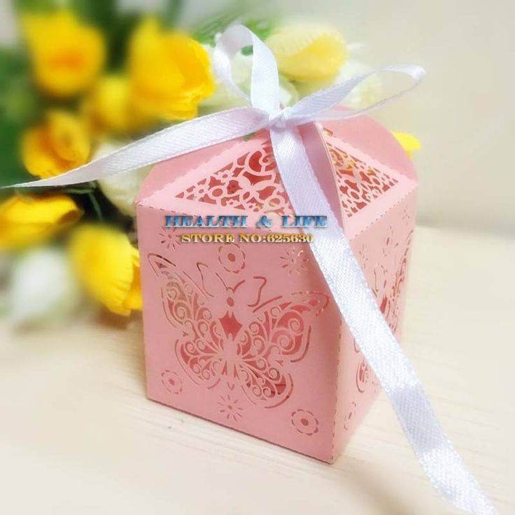 50PCS Laser Cut Pink Butterfly Wedding candy Box Pearlescent Paper box,baby shower candy box,party shower gifts,Chocolate Box-in Event & Party Supplies from Home & Garden on Aliexpress.com | Alibaba Group
