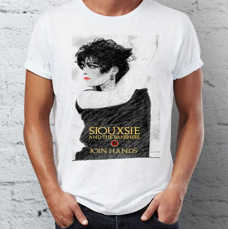 SIOUXSIE & THE BANSHEES - JOIN HANDS  - PUNK  -  T-SHIRT