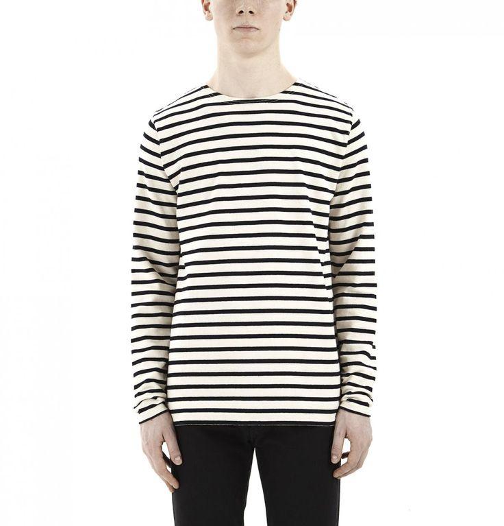 White & Black Godfred Shirt