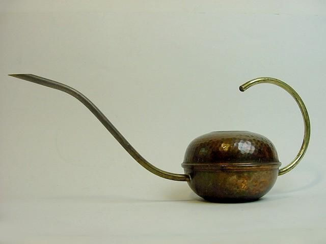 Copper watering can indoor Germany midcentury