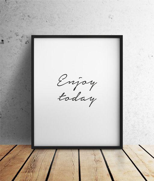 Enjoy Today | INK von farbflut Design auf DaWanda.com