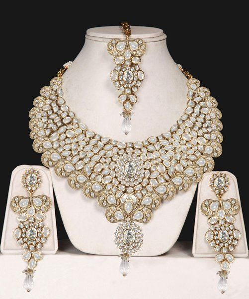 545 best Wedding Jewelry images on Pinterest India fashion Indian
