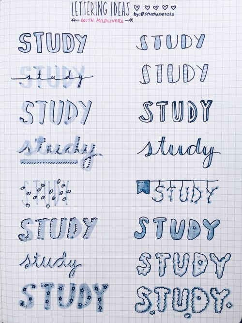 studypetals: 3.26.16+5:41pm // 24/100 days of productivity // i was able to finish 85% of my paper today when i only expected to get half of it done, so i took a break to write some lettering ideas! this time, i wanted to explore with mildliners.