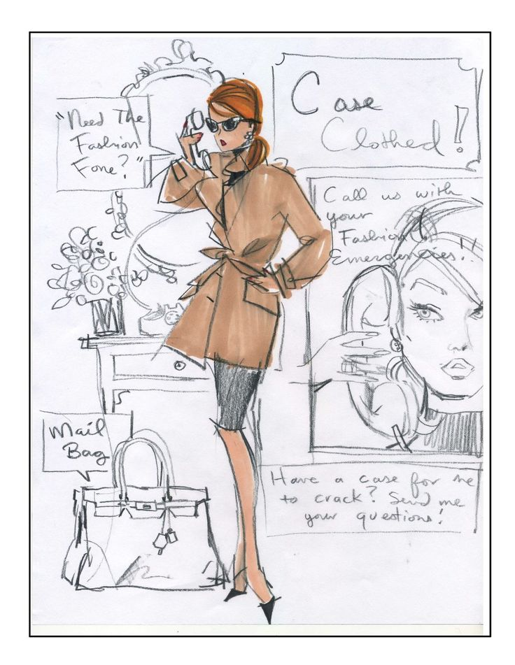 by Robert Best   #fashion #Illustration