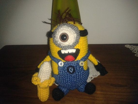 Crochet Patterns Minions Despicable Me : 61 best images about Universal Crochet on Pinterest ...