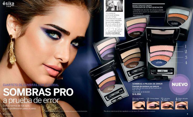 Si siempre has querido maquillarte como un profesional, esta es tu oportunidad! Sólo mira toda oferta de maquillaje de Ésika PRO y guíate paso a paso. Es muy facil. Sólo pídeme tu producto favorito y en pocos días tendrás el producto en tus manos. Podrás notar la diferencia, adelante!