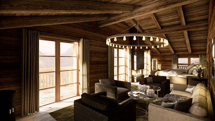 One of the Five Bedrooms in Chalet Ulmann, Tyrol