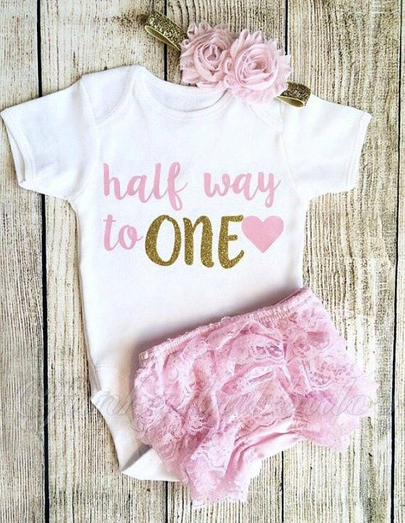 Baby Boy 1st First Birthday Bodysuit Vest and Sleepsuit Set Personalised Embroidered Baby Girl Photoshoot Costume Cake Smash Outfit