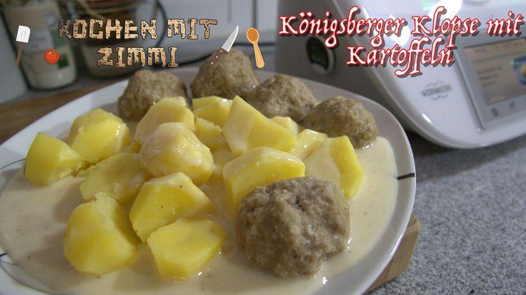 Königsberger Klopse mit Kartoffeln
