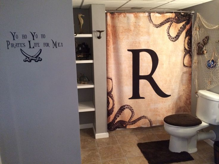 83 Best Pirate Bathroom Images On Pinterest