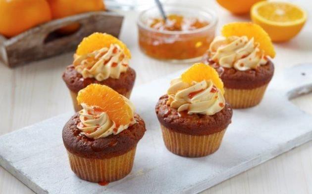 Pomerančové cupcakes » Pečení je radost