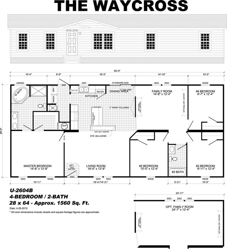 Home plans for Monster mansion mobile home floor plan