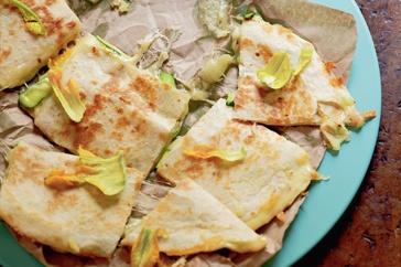 Grilled Cumin-Lime Zucchini Quesadilla Recipe — Dishmaps