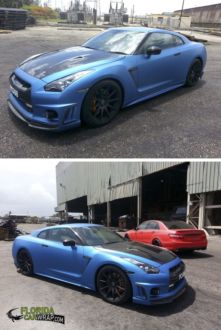 Another beautiful color change wrap by Florida Car Wrap