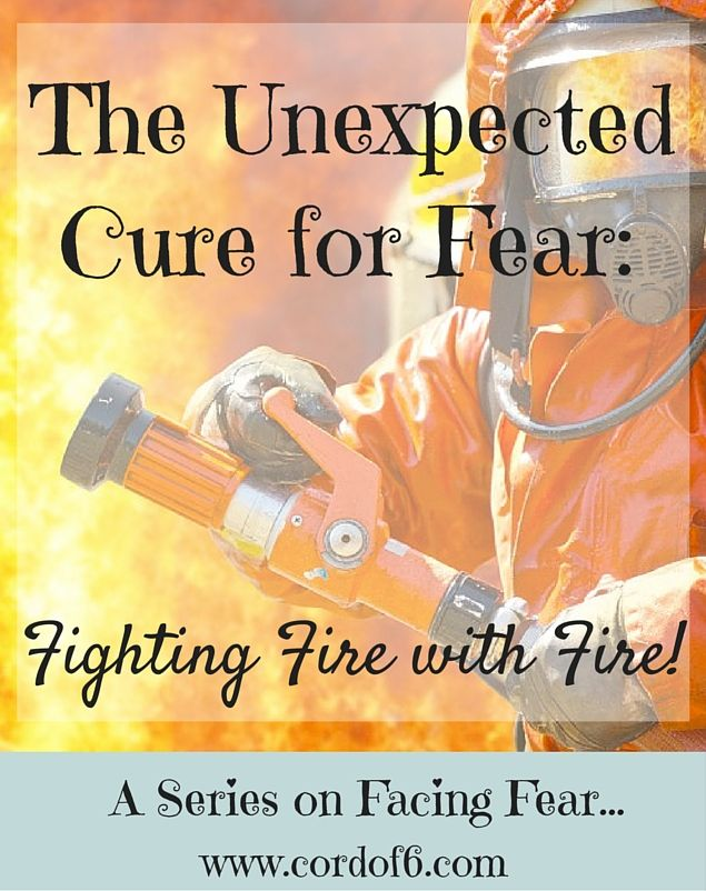 There is one healthy fear that is the cure for every single unhealthy fear out there! Read about how you can fight fire with fire and calm your anxious heart!