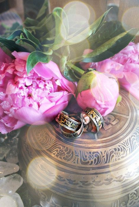 Om Mani Padme Hum ~ copper prayer ring for peace, protection, wisdom and tolerance. ♥