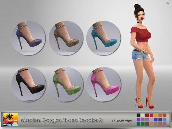 Sims  Elfdor Madlen S Makahari Shoes