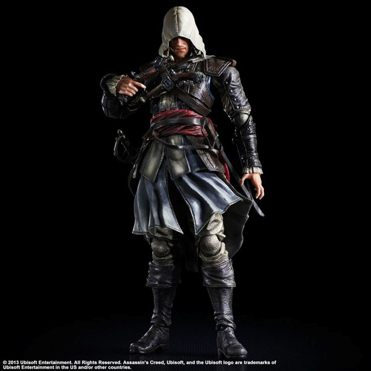 Assassin´s Creed IV Black Flag Action Figure Edward Kenway 28 cm