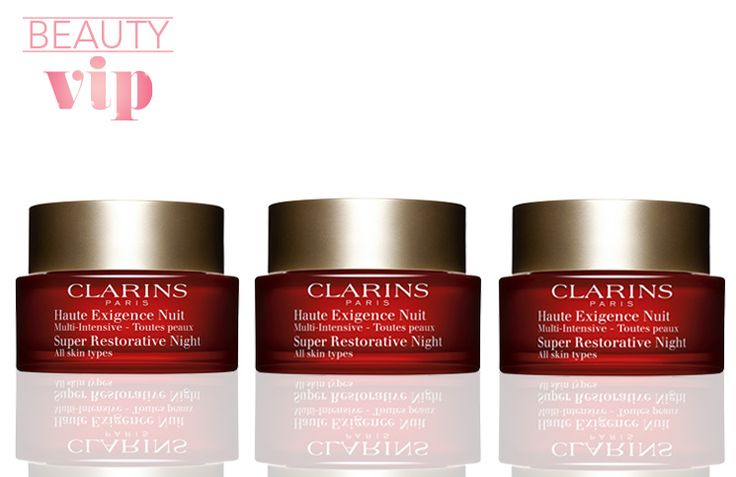 Beauty VIP: Clarins Super Restorative Night Cream - Fashion and Beauty NZ