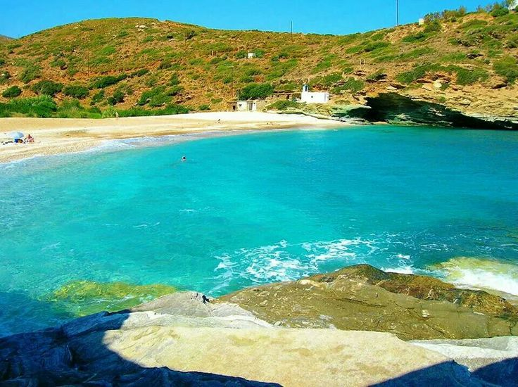 Andros island Greece