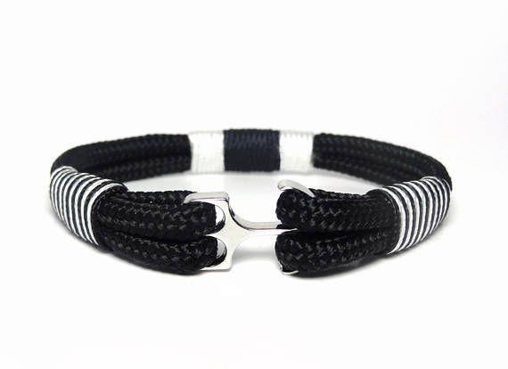 Anchor Bracelet Nautical Men S Jewelry Paracord