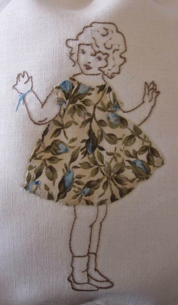 Elisabetta hand embroidery: apply to applications