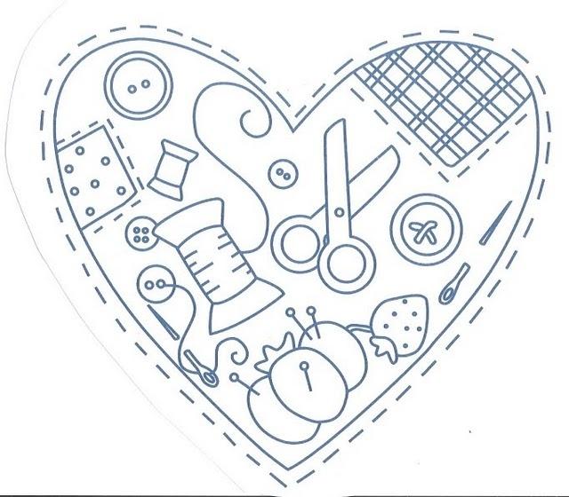 El corazón de la costura