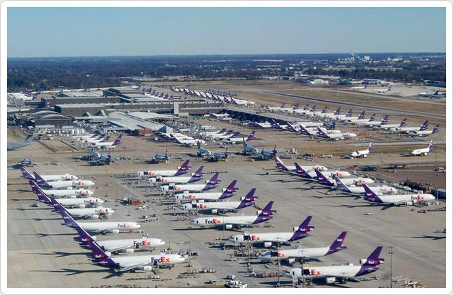 FedEx at Memphis International Airport