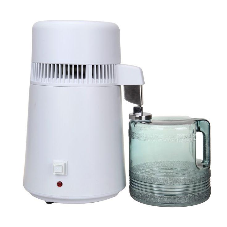 (Ship from EU) 4L Electric Pure Water Filter Distiller Machine Purifier Filtration Hospital Home Office Kitchen Wasser Destillie