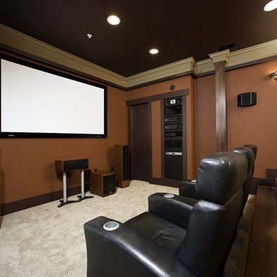 Incredibly Green Home Of Chevy Chase   Contemporary   Home Theater   Other  Metro   Christian Gladu Design